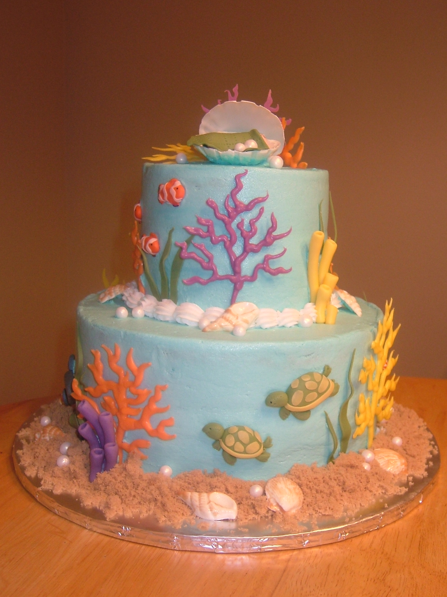 Under the Sea Baby Shower Kathryns Cake Shoppe