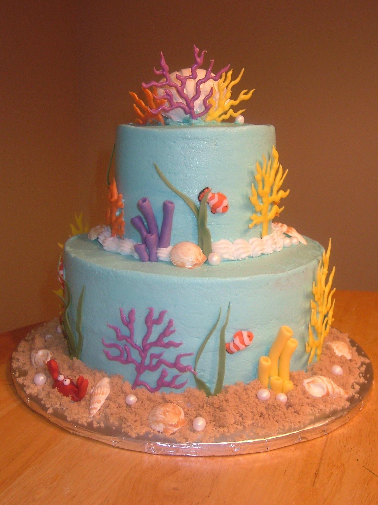Under the Sea Baby Shower Cakes