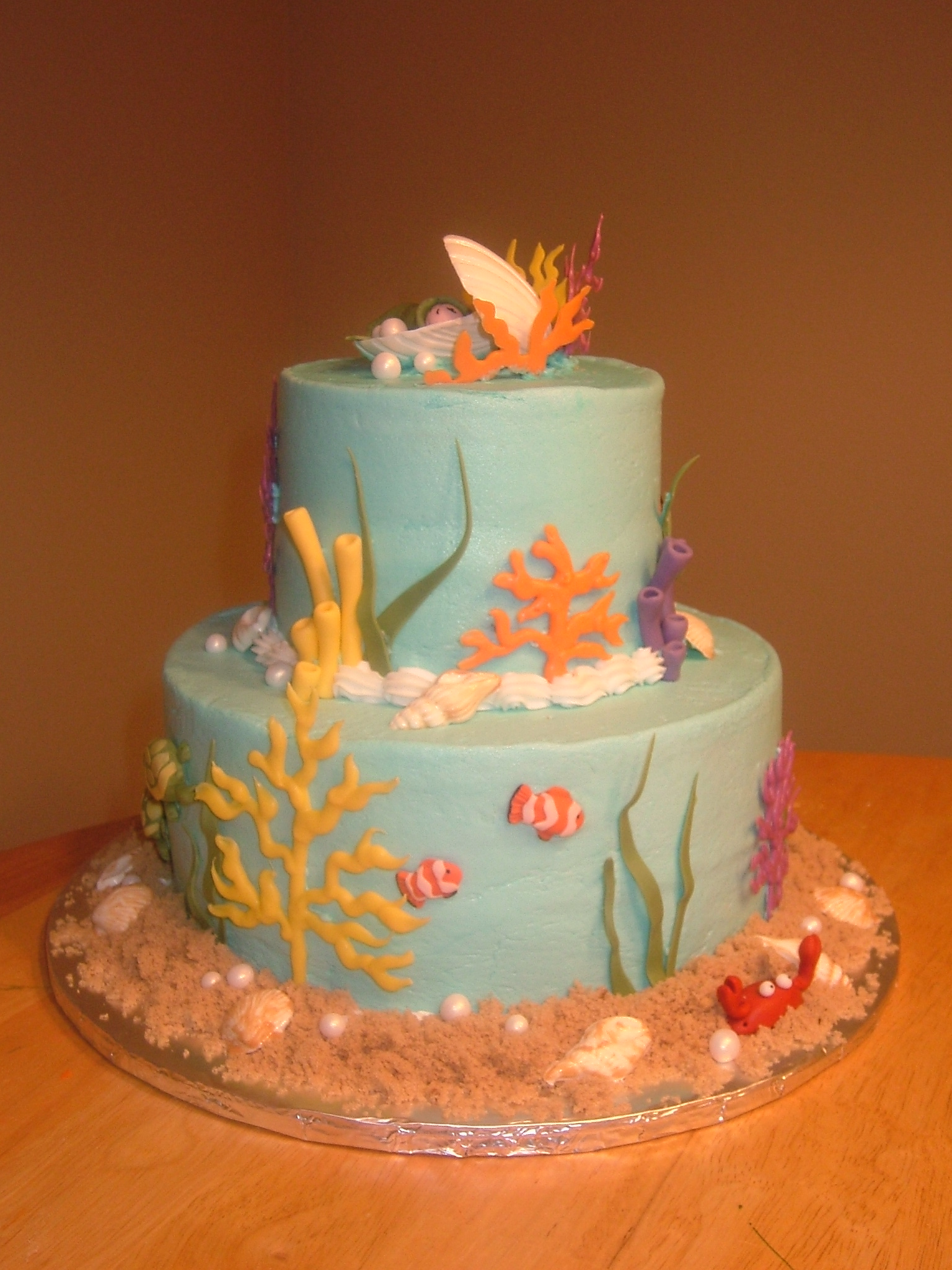 Under the sea right Kathryns Cake Shoppe