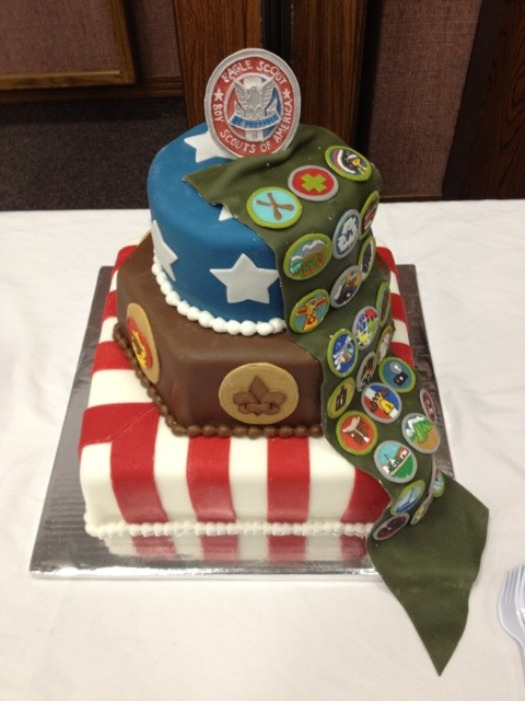 Eagle Scout Ceremony Cake Ideas