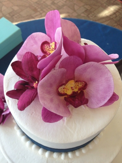 Orchid Wedding Cake 171 Kathryn S Cake Shoppe